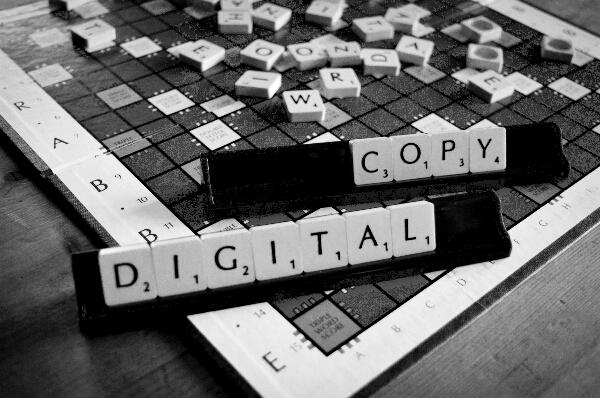 Digital Copy Grey