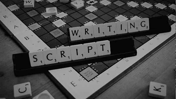 Script Writing Grey