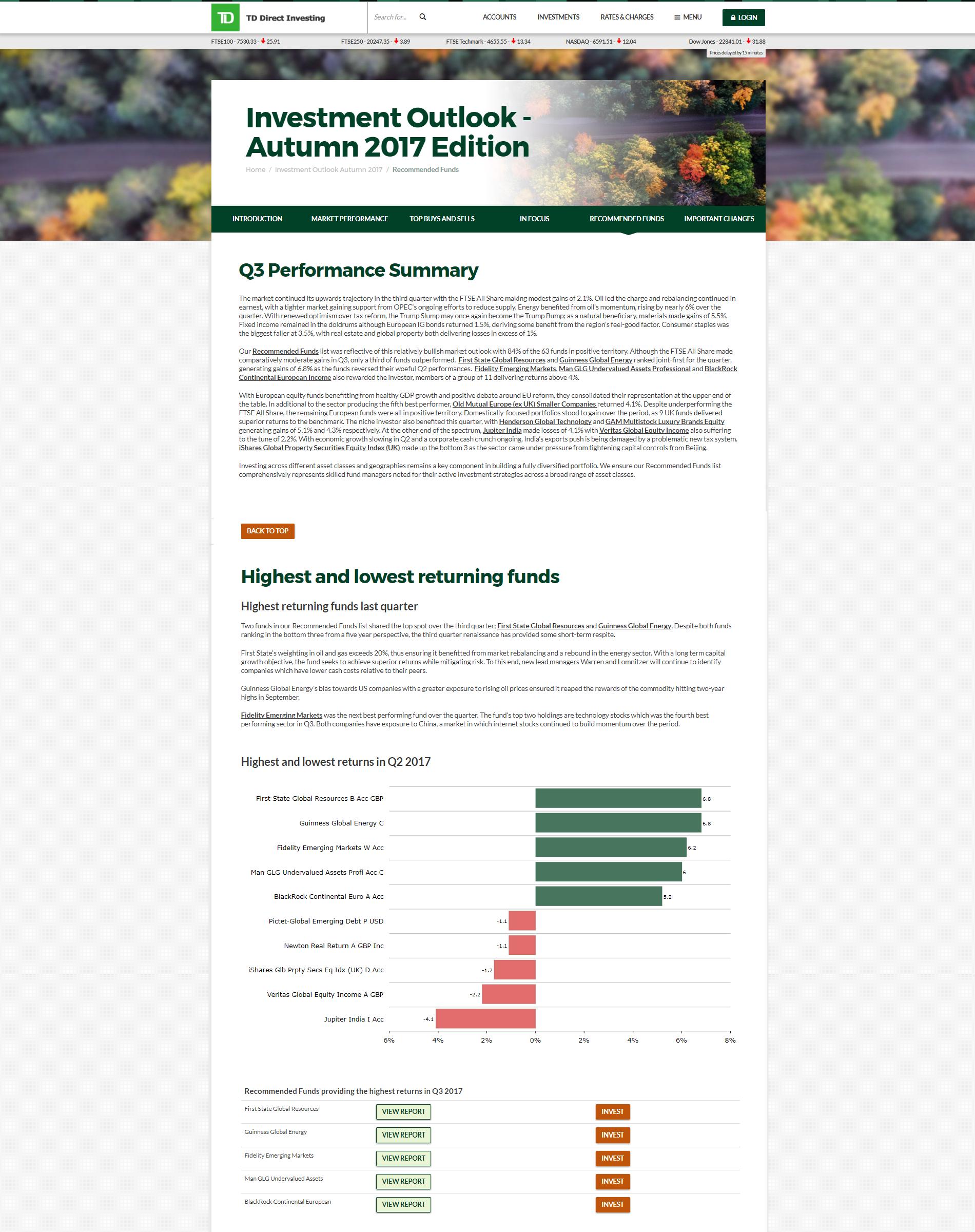 Rec Funds Performance Autumn Outlook FSv1